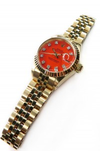 rolex stella dial day date orange