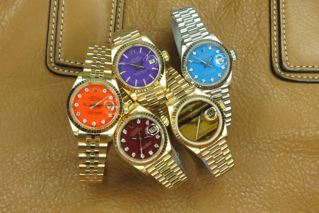 Rolex Stella Dial Day Date colours