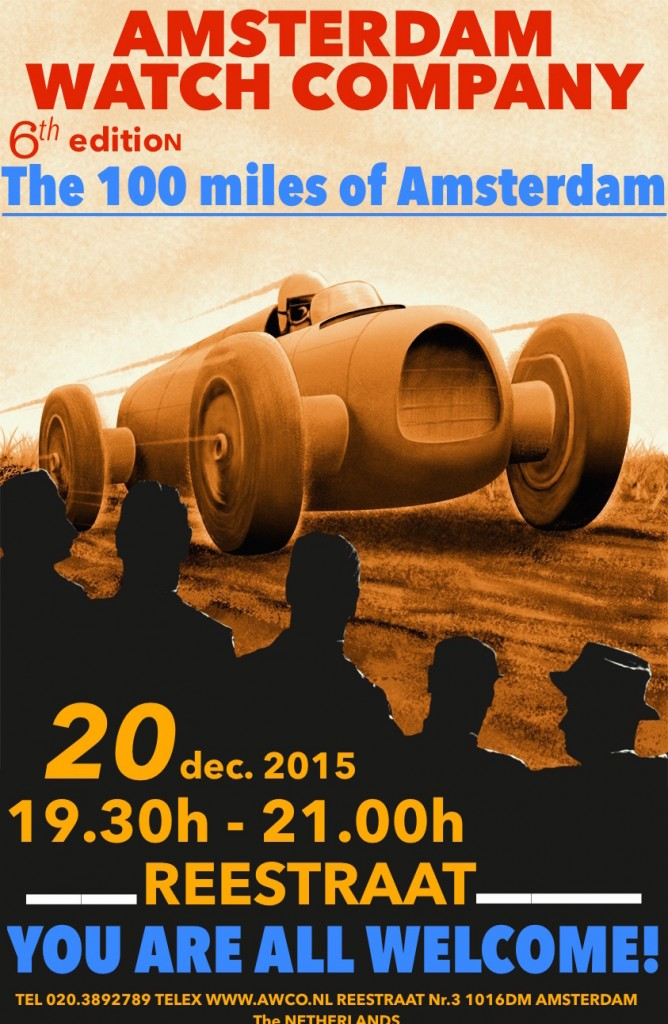 poster 100 miles 2015