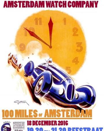 Uitnodiging 100 miles of Amsterdam 2016.