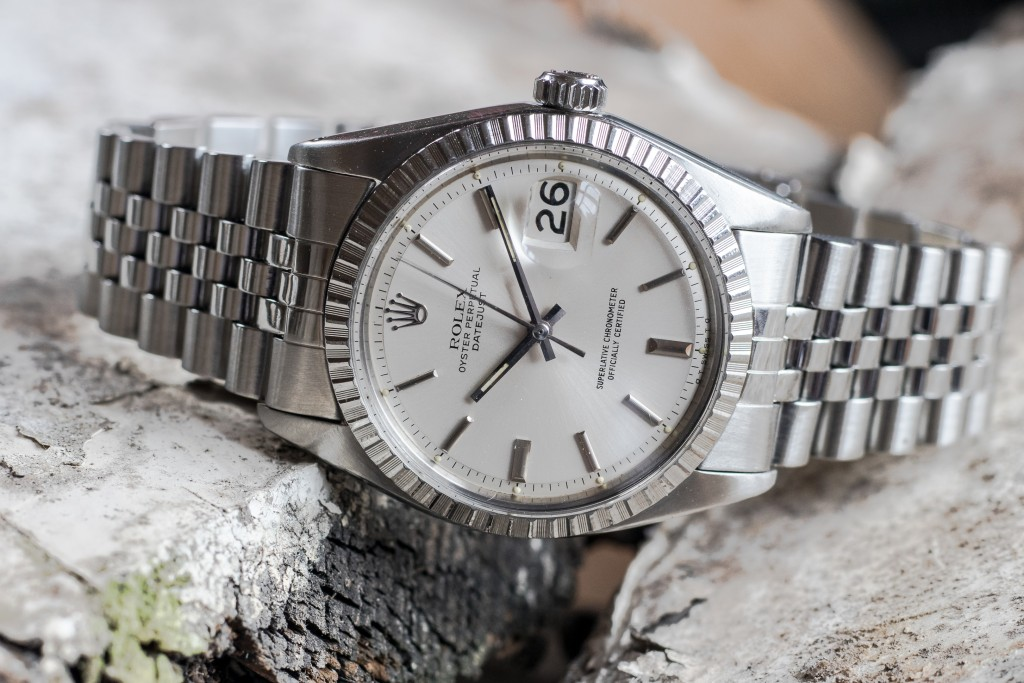 Rolex datejust Pie-pan Sigma dial