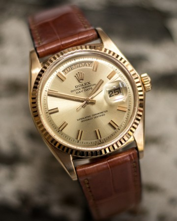 The Rolex Day-Date 1800 series