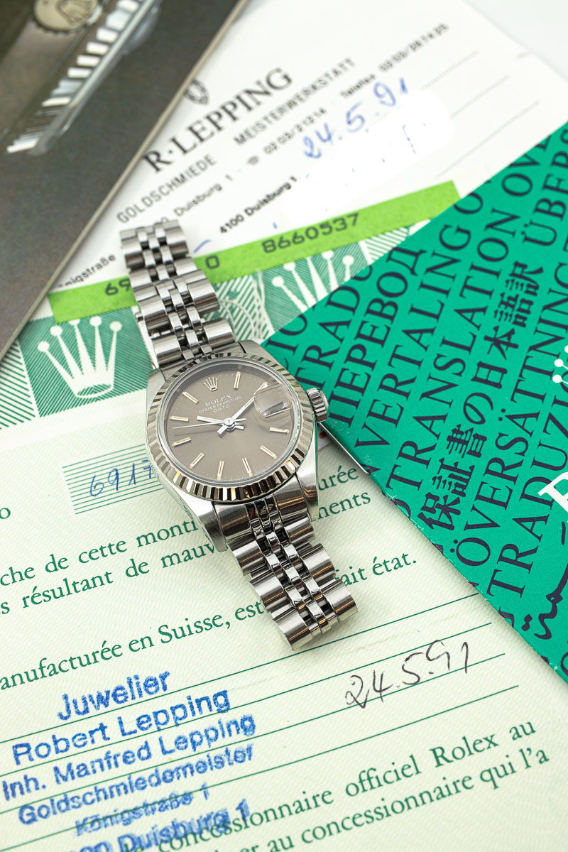 Rolex Datejust Ref. 69174 Papers