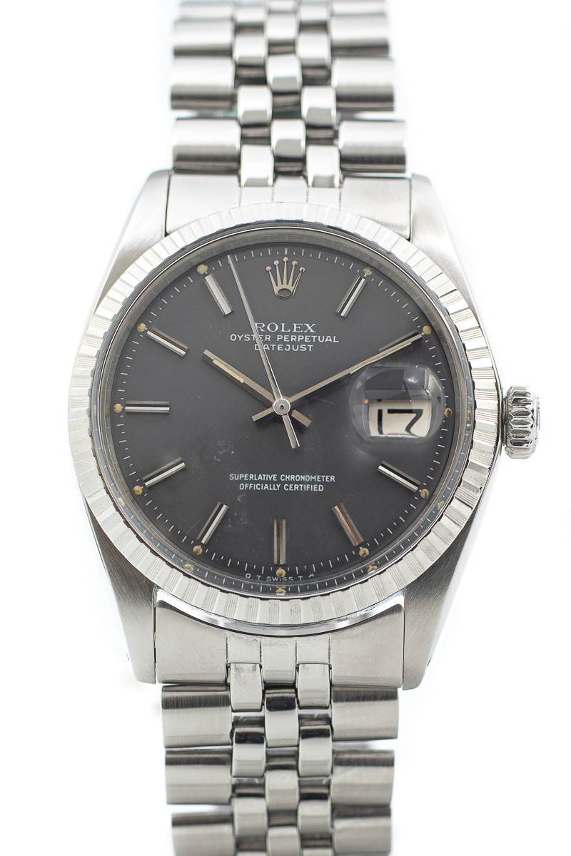 Rolex Datejust ref. 1603 Grey Sigma dial