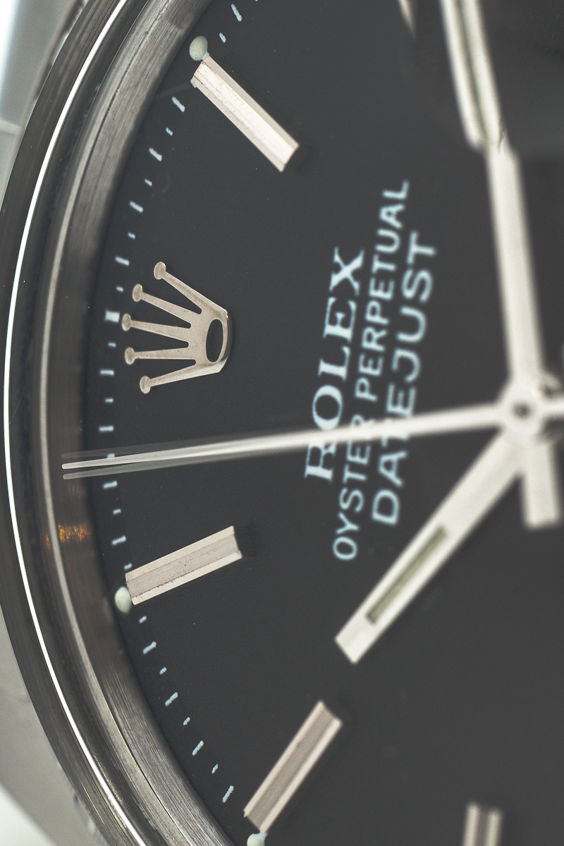 Rolex datejust Ref. 1603 Black dial.