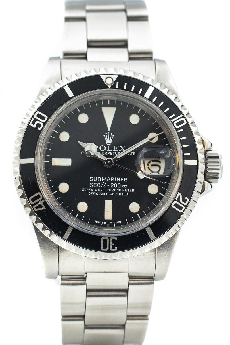 Rolex Submariner Ref 1680 MKI Maxi dial
