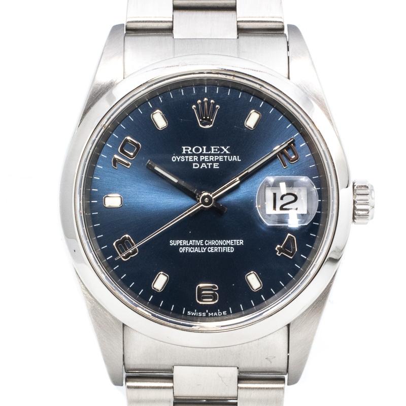 Rolex Date Ref. 15200 Blue