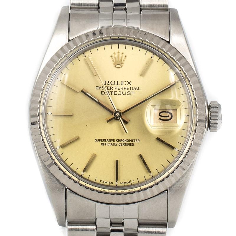 Rolex Datejust Ref. 16014 Sunshine