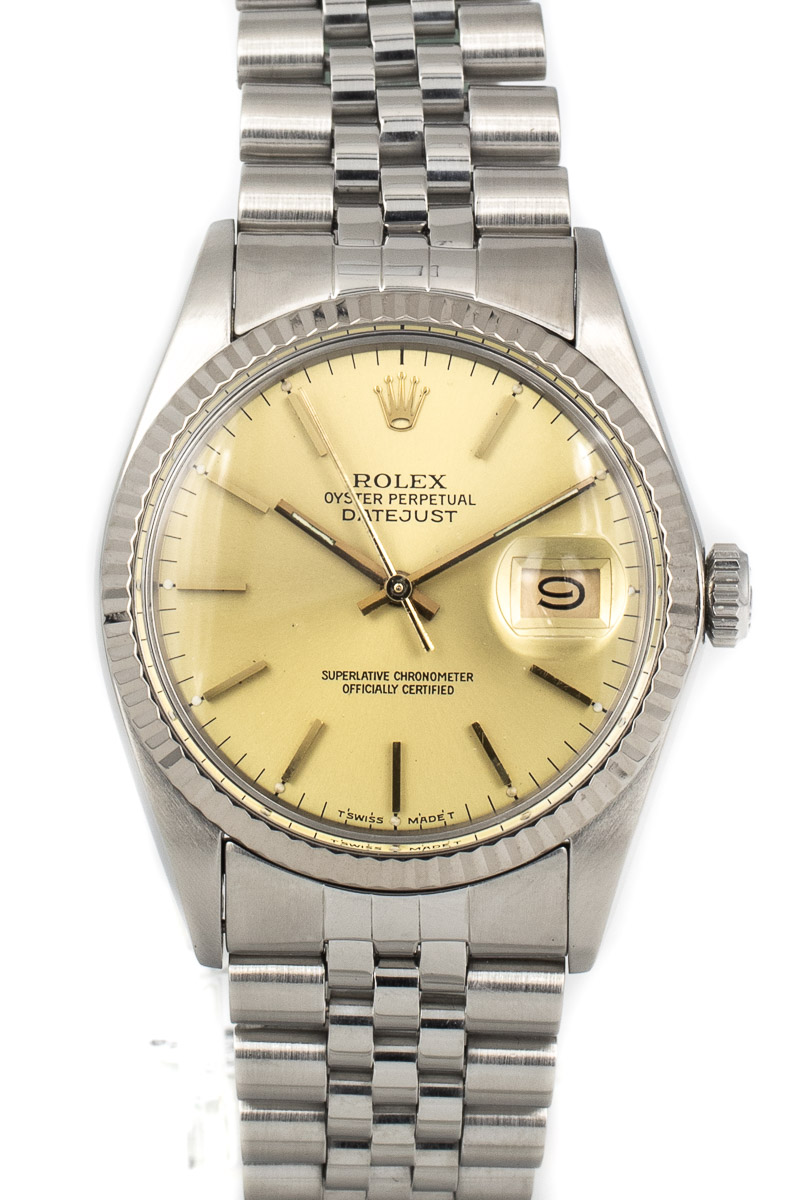 Rolex Datejust Ref. 16014 Sunshine