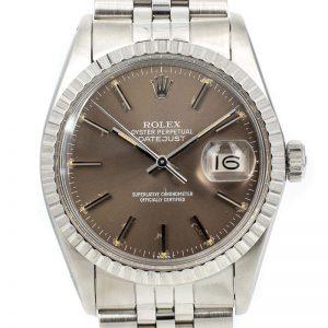 Rolex datejust Ref. 16030 Brown