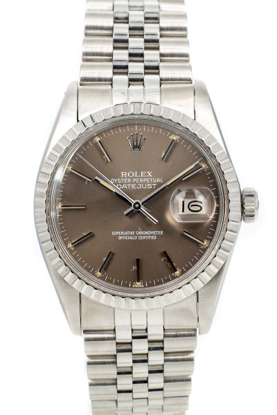 Rolex datejust Ref. 16030 Brown