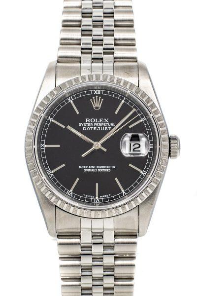 Rolex Datejust ref. 16220 B+P