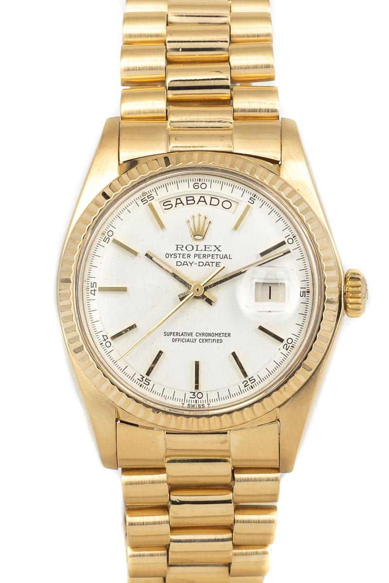 Rolex Day-Date Ref. 1803 White dial