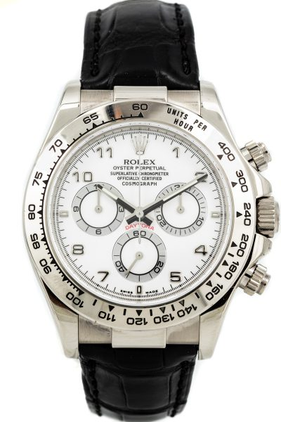 Rolex Daytona 18k Ref 116519 B+P