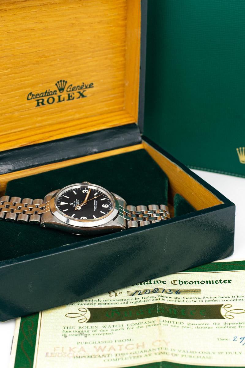 Rolex Explorer Ref. 1016 B+P