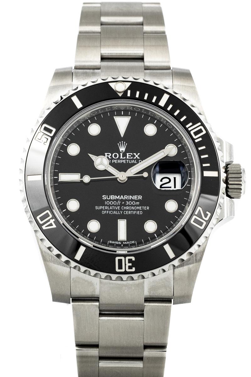 Rolex Submariner Ref. 116610 B+P NEW