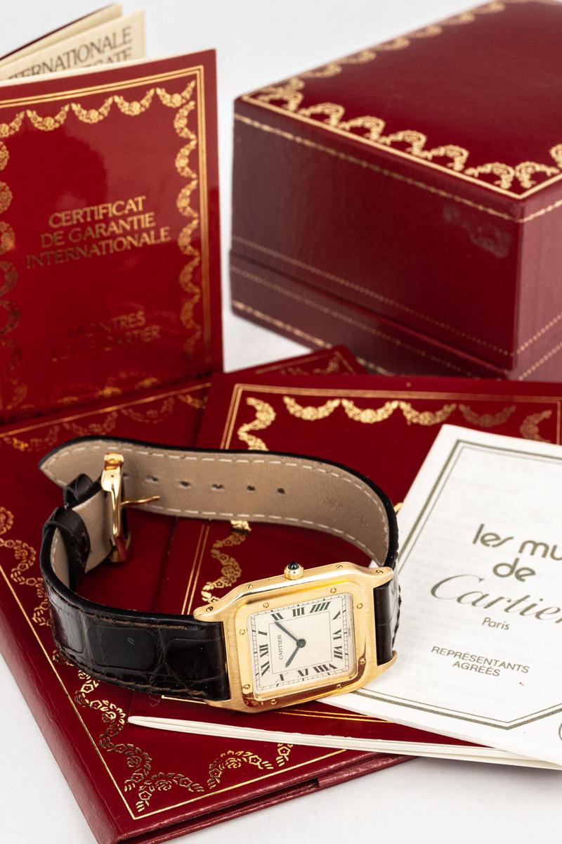 Cartier Santos dumont Ref. 1576 B+P
