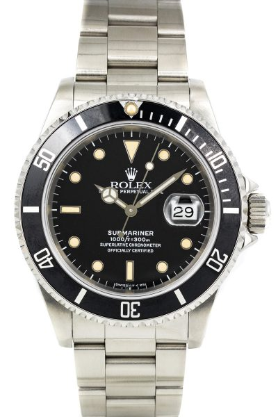 Rolex Submariner ref. 16610 Patina
