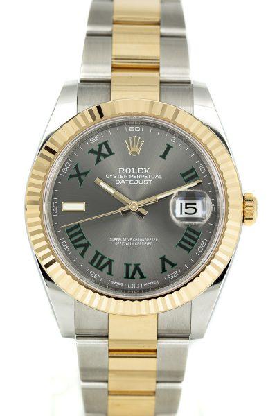 Rolex Datejust Ref. 126333 B+P