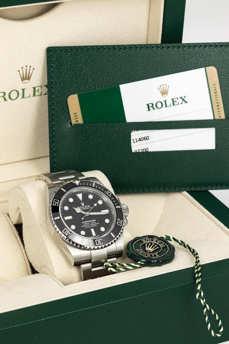 Rolex Submariner Ref. 114060 B+P