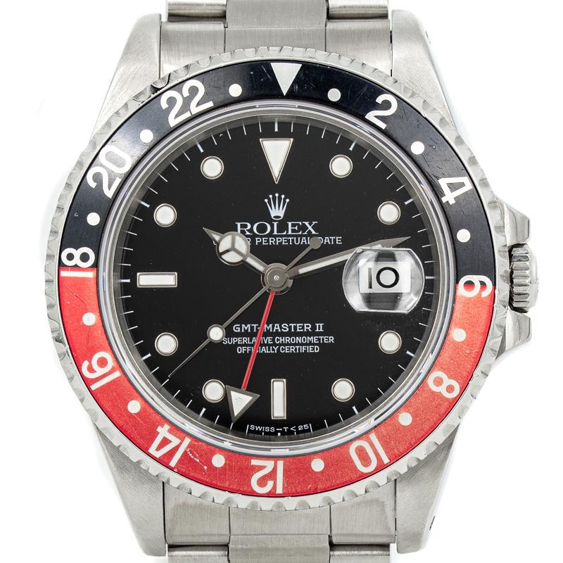 Rolex GMT-Master II Ref 16710 B+P