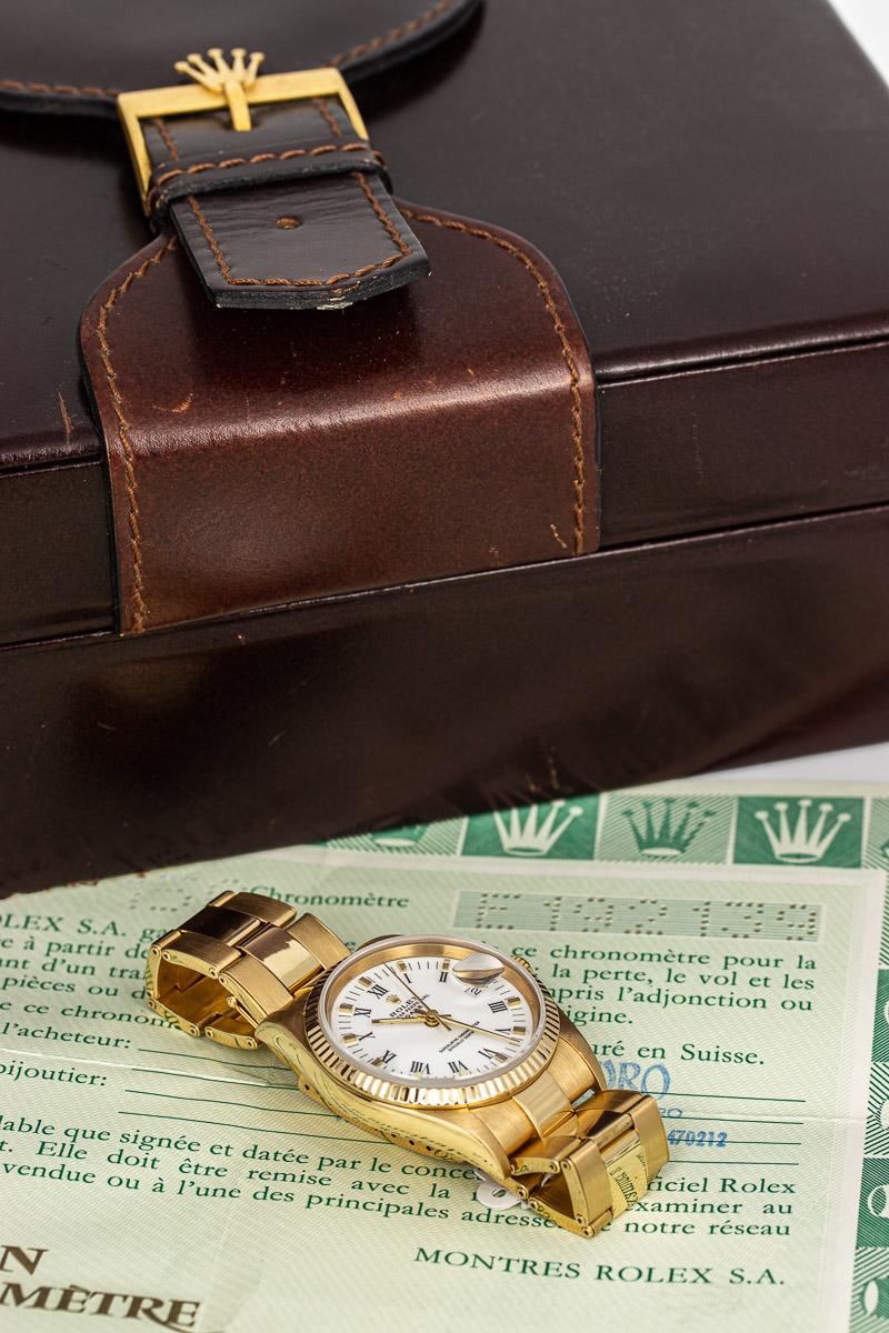 Rolex Date ref. 15238 B+P
