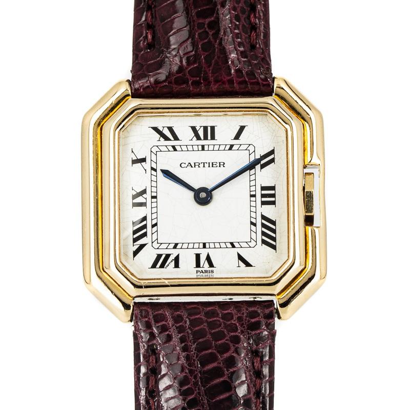 Cartier Sextavado Ref. 78099