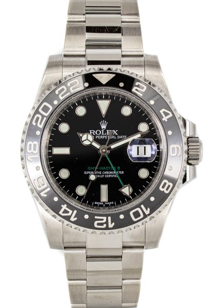 Rolex GMT-Master II Ref. 16710LN B+P
