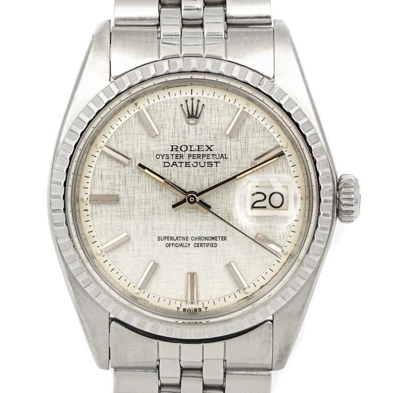 Rolex Datejust 1603 Linnen Dial