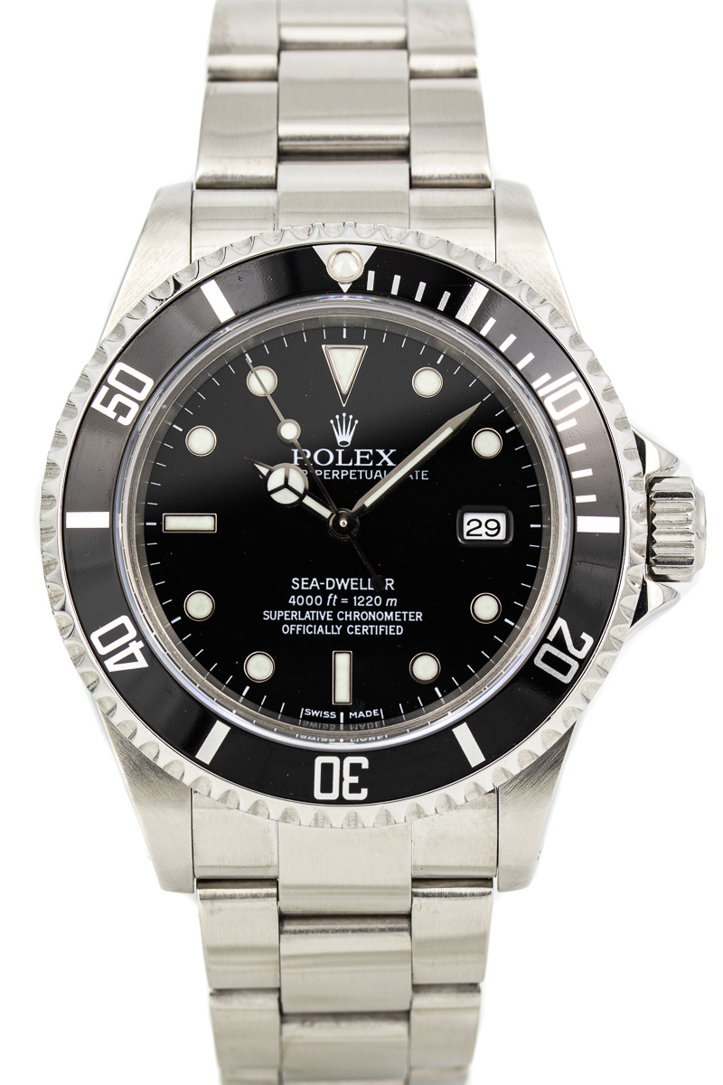 Rolex Sea-Dweller Ref. 16600 B+P