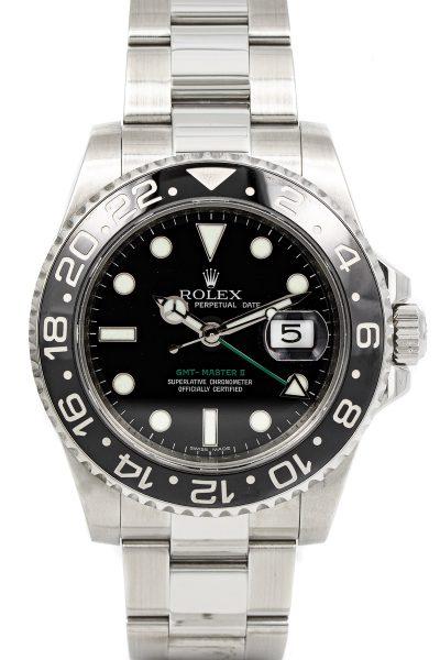 Rolex GMT Ref. 116710LN B+P