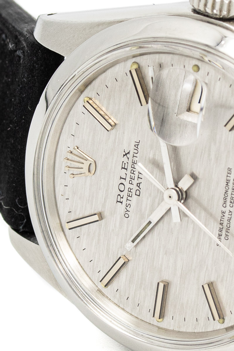 Rolex Date 1500 structure dial