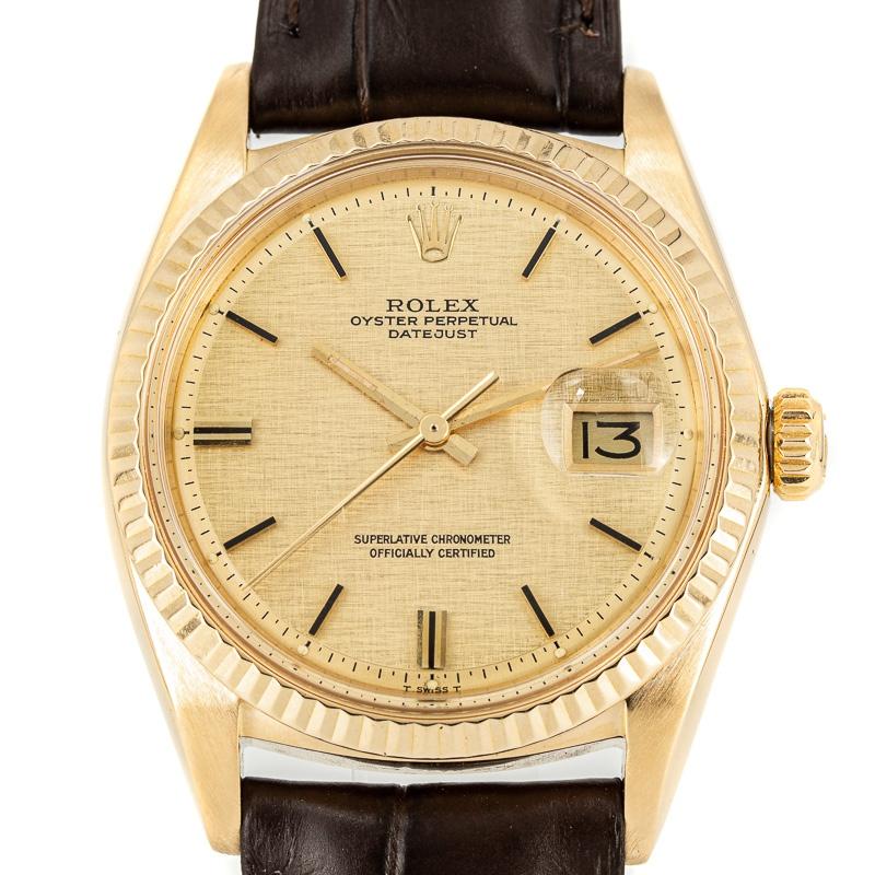 Rolex Datejust Ref. 1601 linen