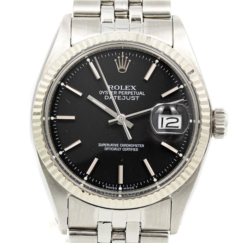 Erolex datejust ref 1601 black