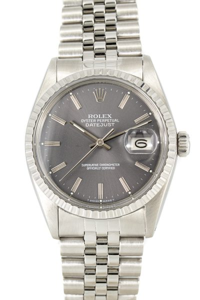 Rolex datejust ref. 16030 Grey