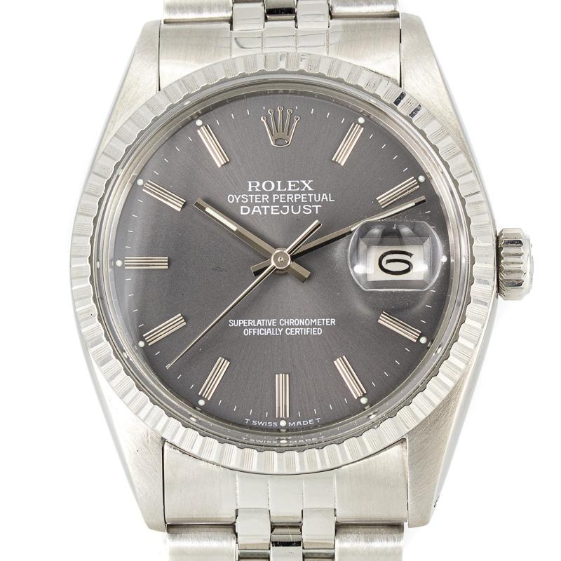Rolex datejust ref. 16030 Grey