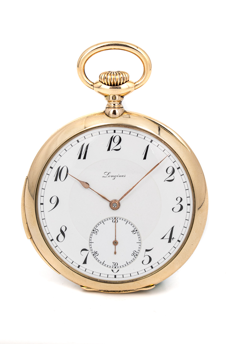 Longines pocketwatch minute repeater