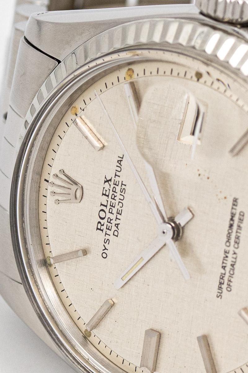 Rolerx Datejust ref 1601 ''linen