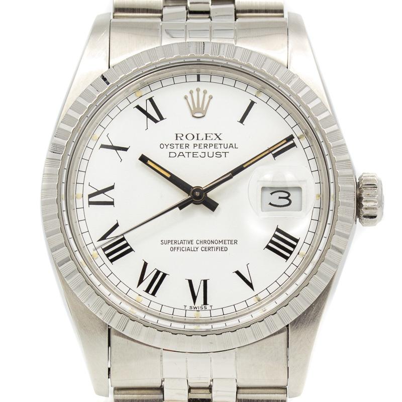 Rolex Datejust Ref 160130 buckley