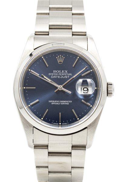 Rolex datejust 16200 Blue dial