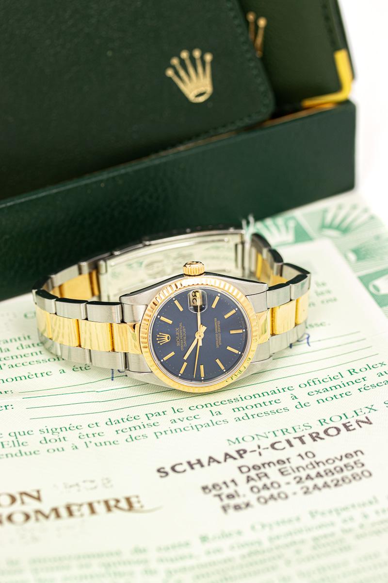 Rolex Datejust Ref 68273 B+P