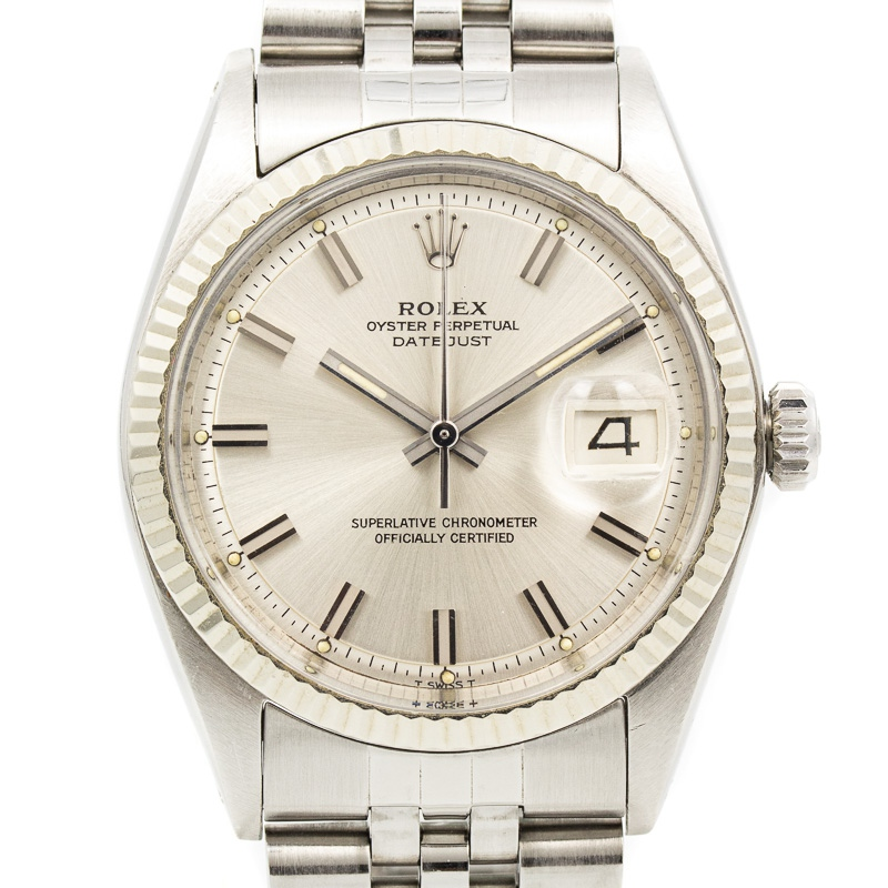 Rolex datejust ref 1601 wideboy