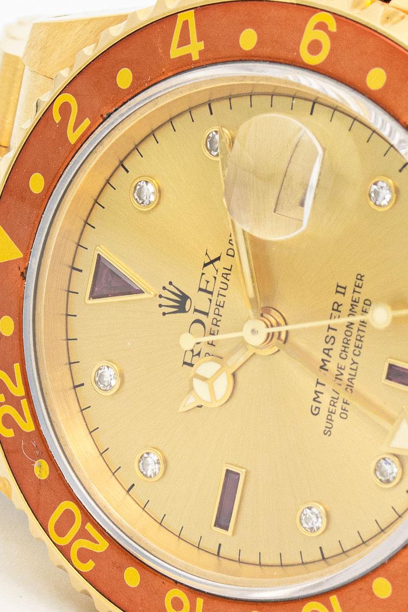 Rolex GMT Master II Sultan ref 16718