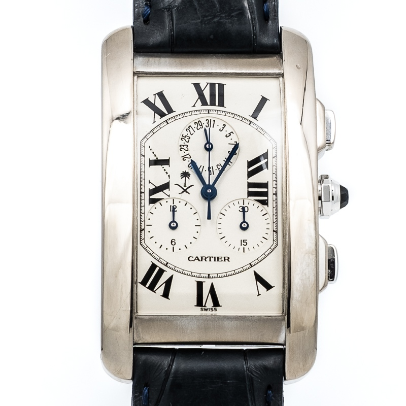 Cartier Tank Americaine Chronoflex 2312