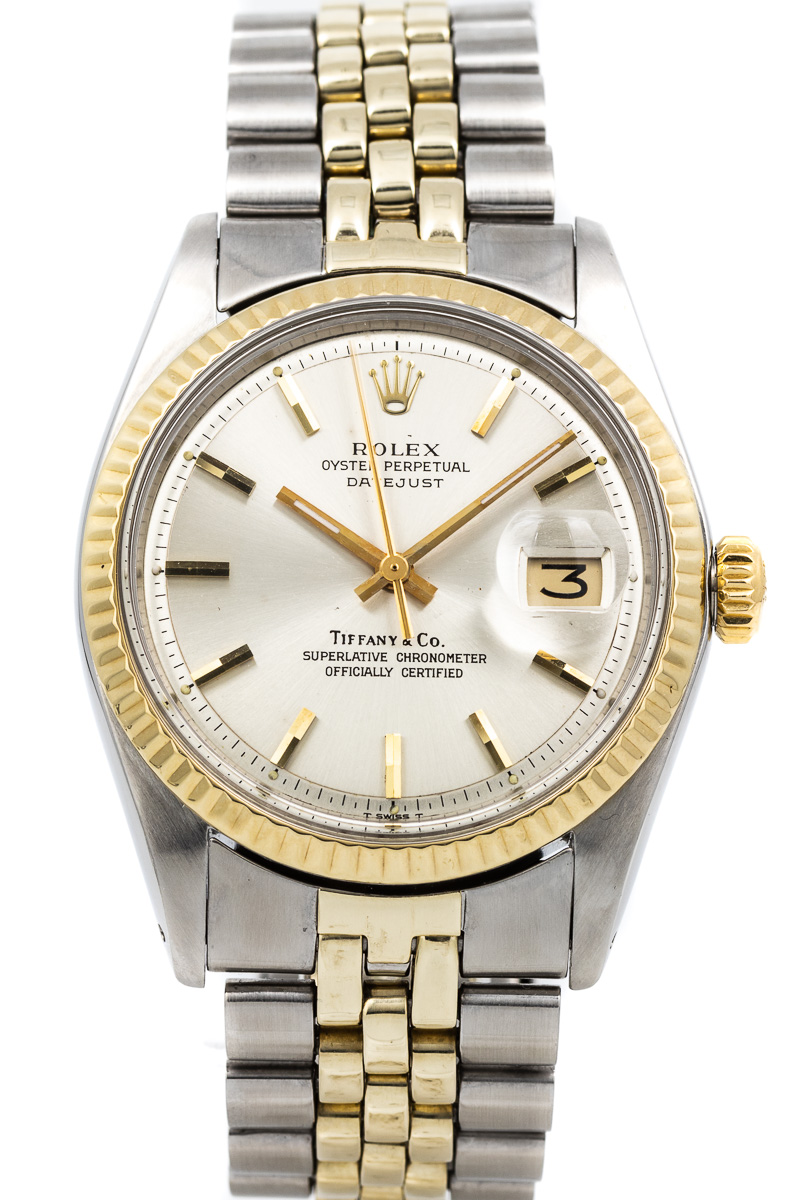 Rolex Datejust Ref. 1601 Tiffany
