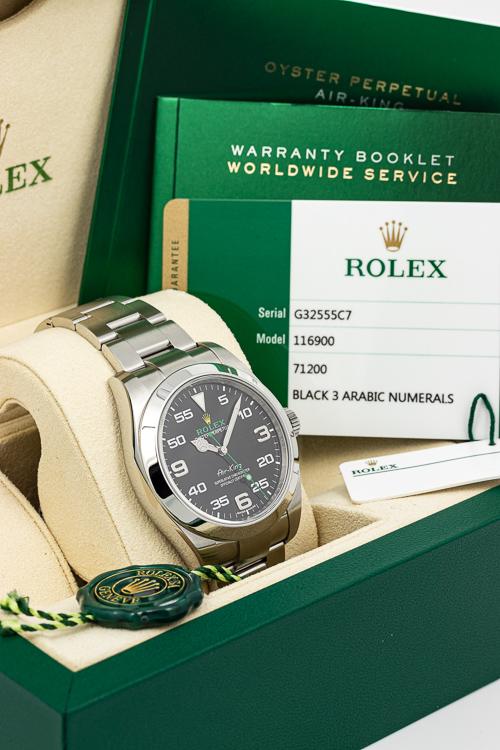 Rolex Air King 116900