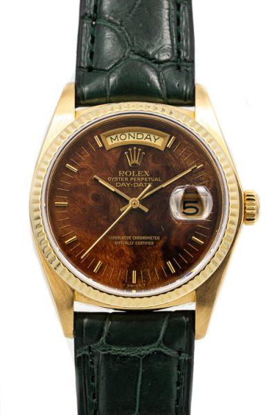 Rolex Day-Date 18038 Burl wood