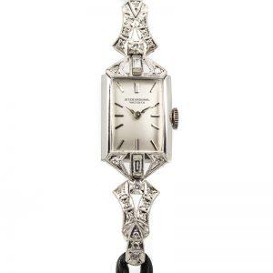 Cocktail watch IWC Platinum