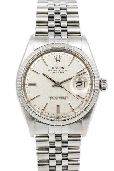 Rolex datejust 1601 Linen