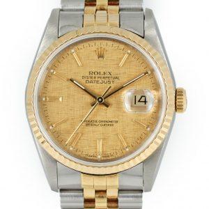 Rolex Datejust ref 16233 linen